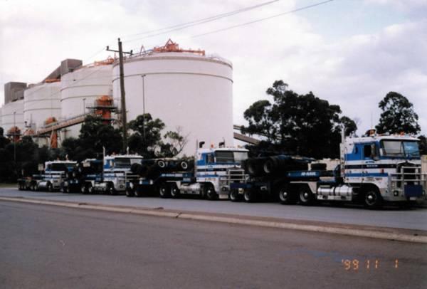 Truck Fleet in 1999