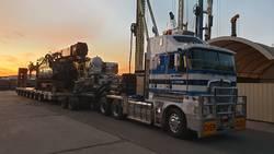 Piling Rig Transport