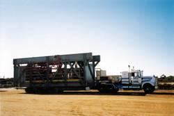 Steel Frame Transport