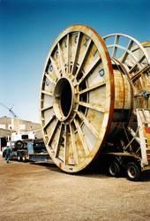 Transporting Steel Reel